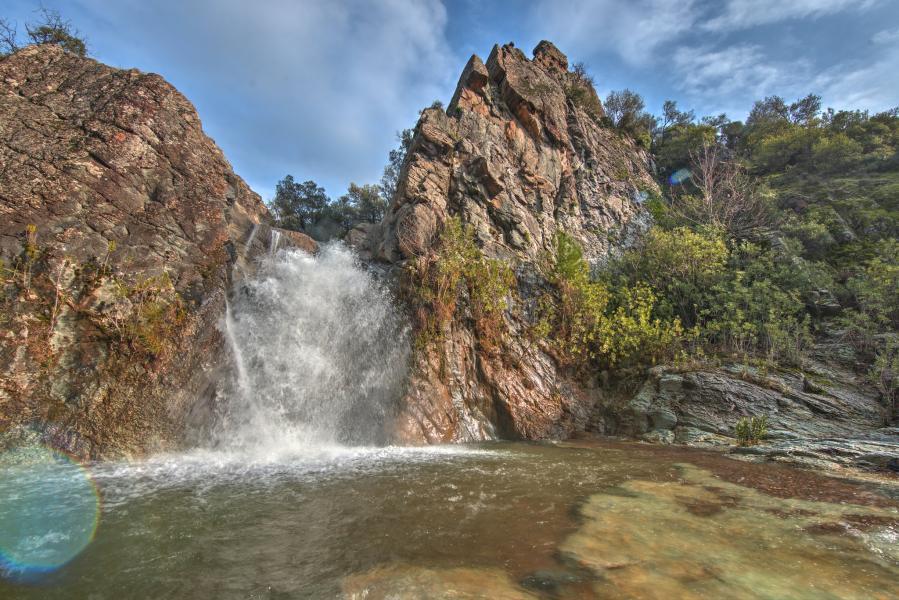 TC3H Waterfall near Izmir, Turkey