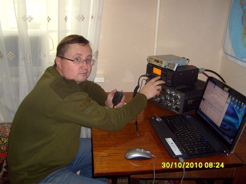 EW2EO Valera Pravilov, Borisov, Belarus