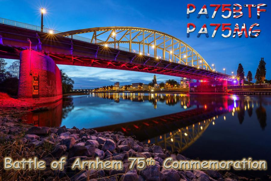 PA75MG PA75BTF Battle of Arnhem, Arnhem, Netherlands