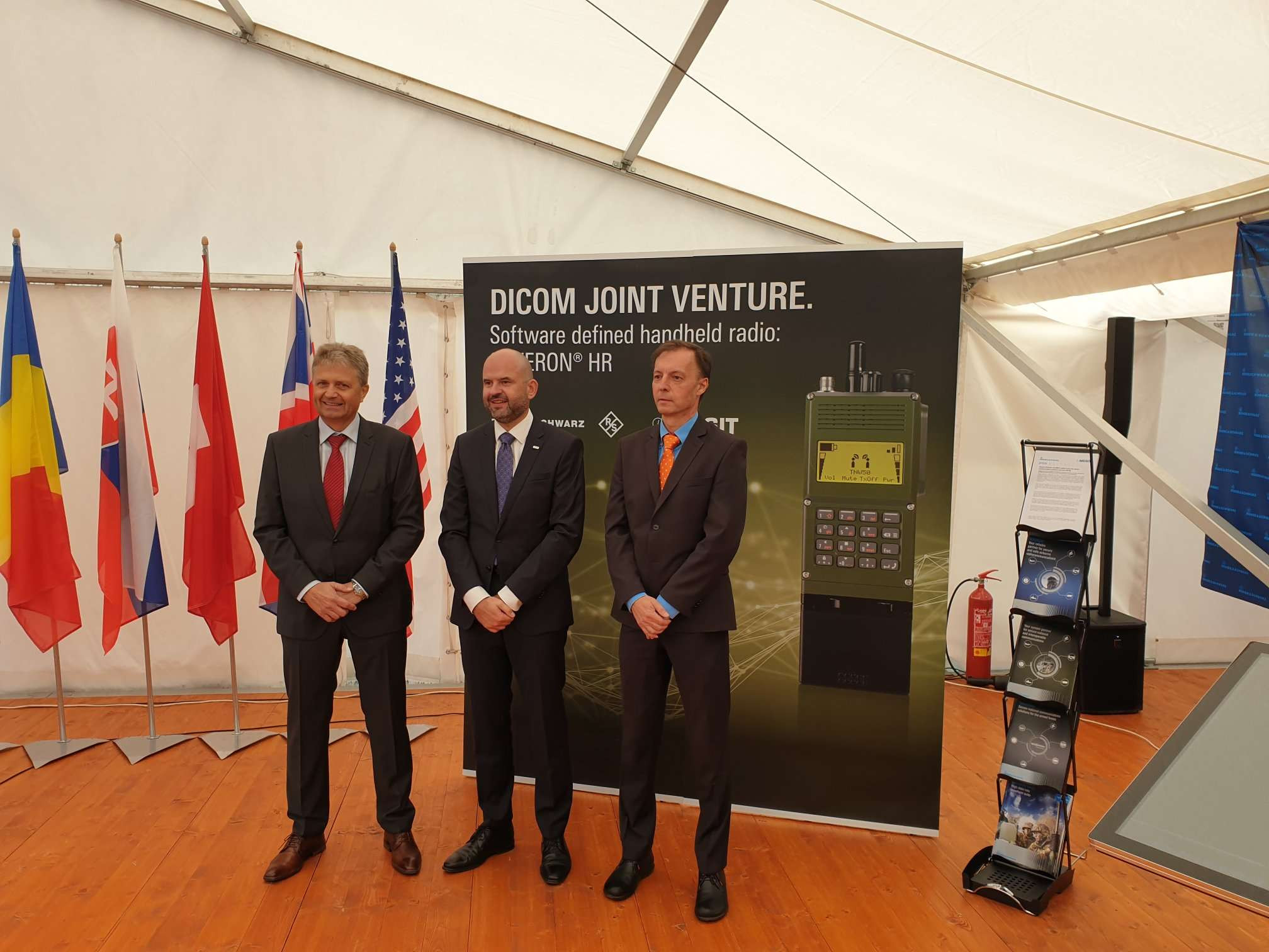 NATO Day Ostrava, Czech Republic DICOM Joint venture Presentation Image 1
