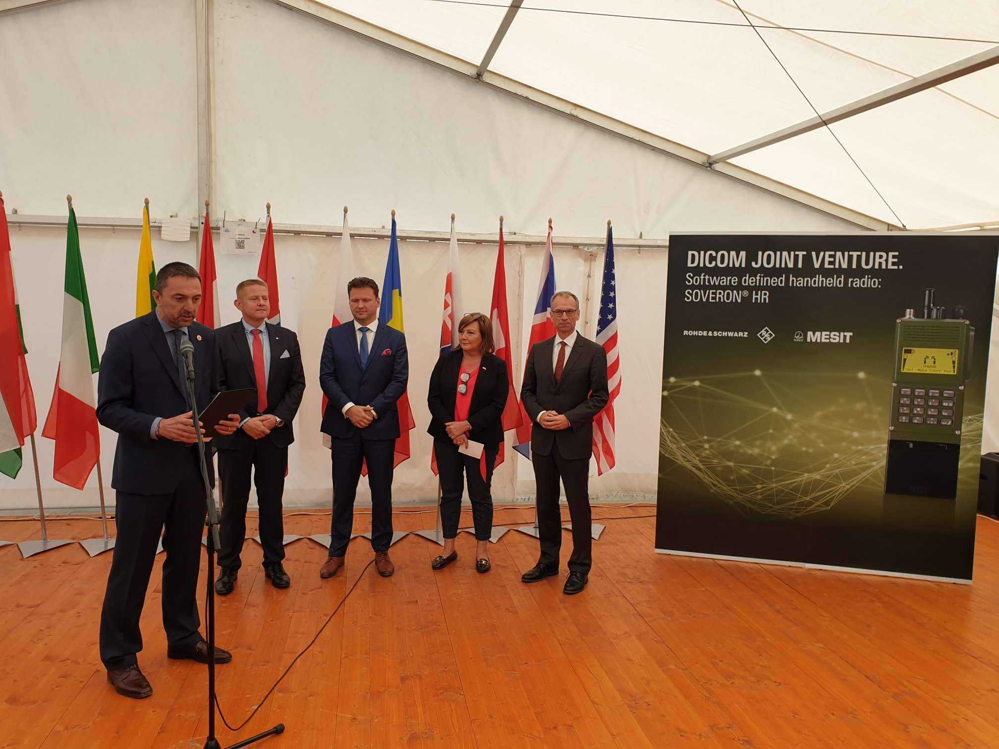 NATO Day Ostrava, Czech Republic DICOM Joint venture Presentation Image 2