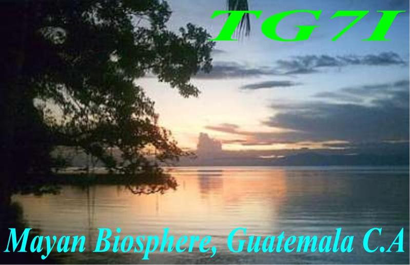 TG7/TG9ANF TG7/TG9ADQ TG7/TG9AXF TG9ANF/7 Maya Biosphere Reserve, Guatemala