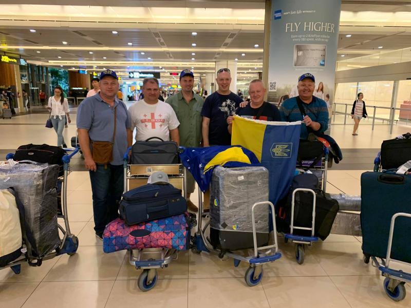 ZK3A Tokelau 27 September 2019 Ukranian Team Singapore