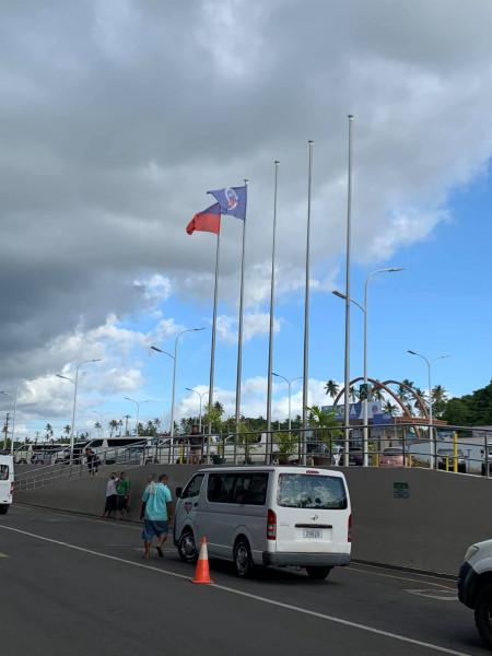 ZK3A Tokelau DX Pedition Ukranian Team Apia, Samoa. Faleolo International Airport Image 3
