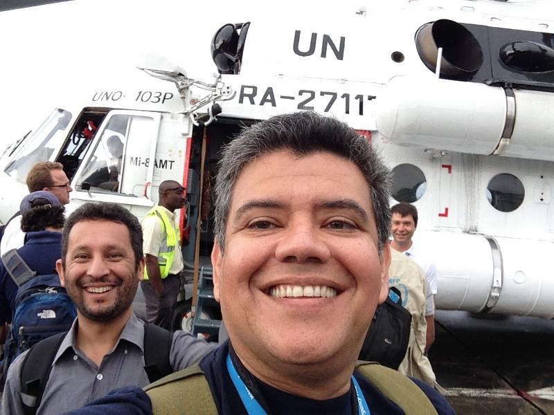 YS1RS Roberto Salazar, San Salvador, El Salvador