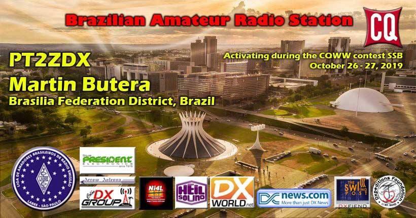 PT2ZDX Brasilia, Brazil