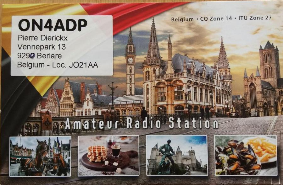 OR4ADP Pierre Dierickx, Berlare, Belgium