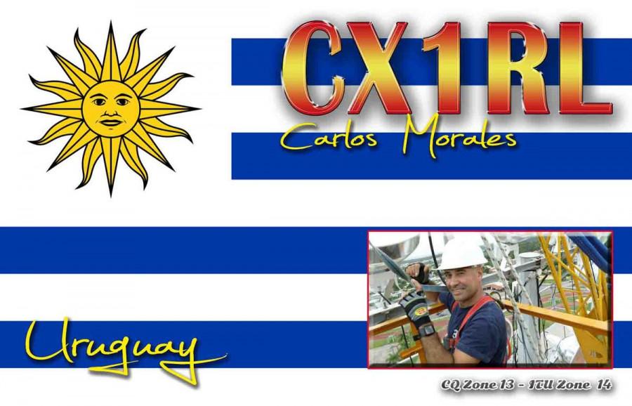 CW2R Carlos Morales, Maldonado, Uruguay