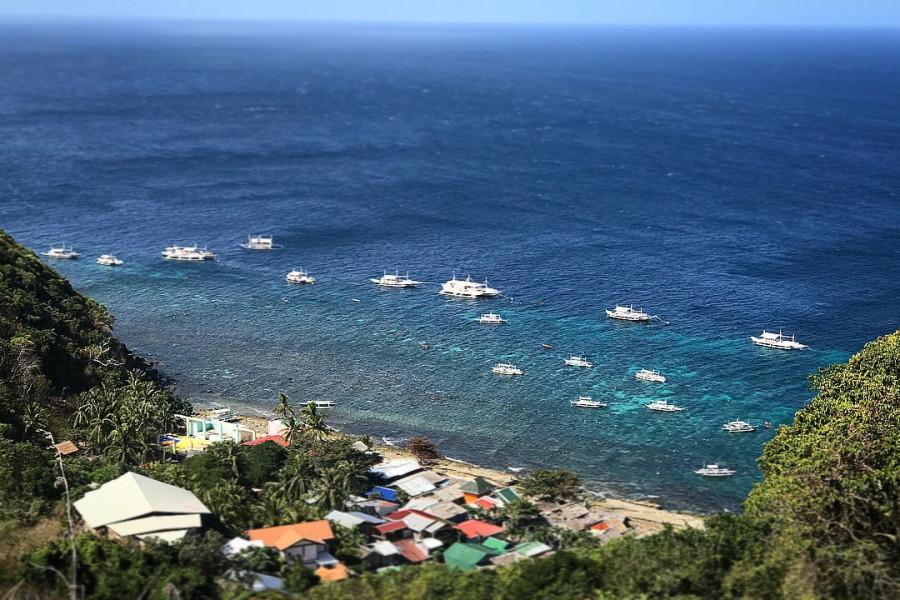 DU6W Apo Island, Negros, Philippines