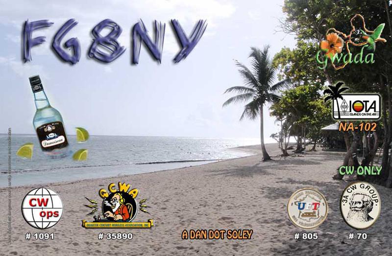 FG8NY Jean Claude Mercier, Saint Claude, Basse Terre Island, Guadeloupe