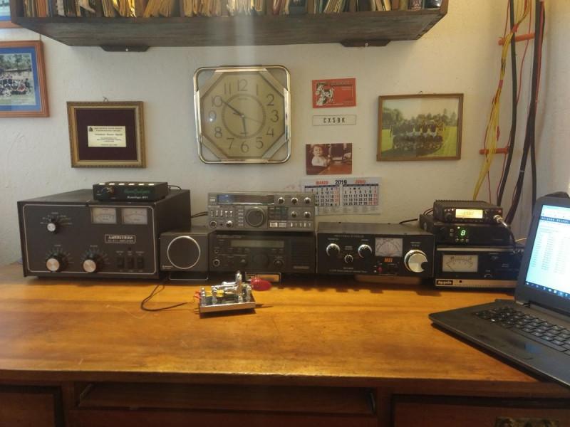 XQ6CF Wladimir Rosas Aguila, Osomo, Chile Radio Room Shack