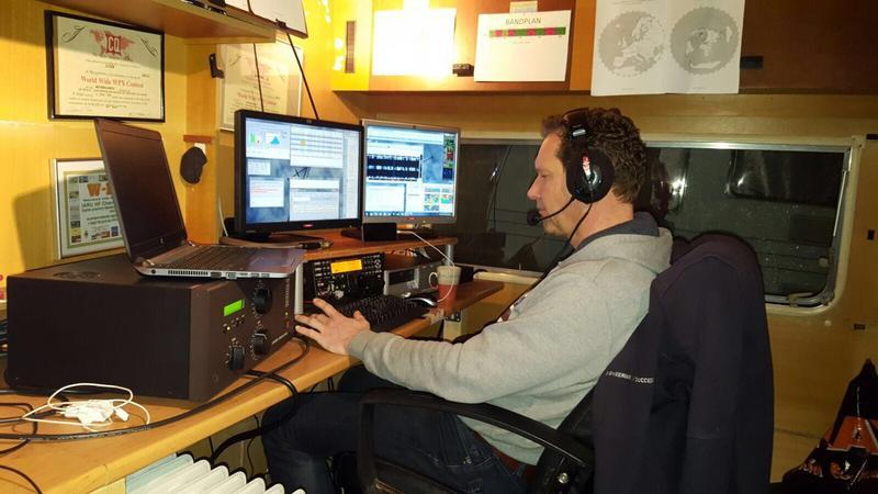 PA6E Bert Kamminga, Drachten, Netherlands Radio Room Shack