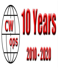 CW Ops 10th Anniversary