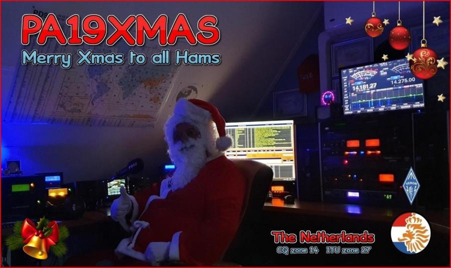 PA19XMAS Santa, Netherlands