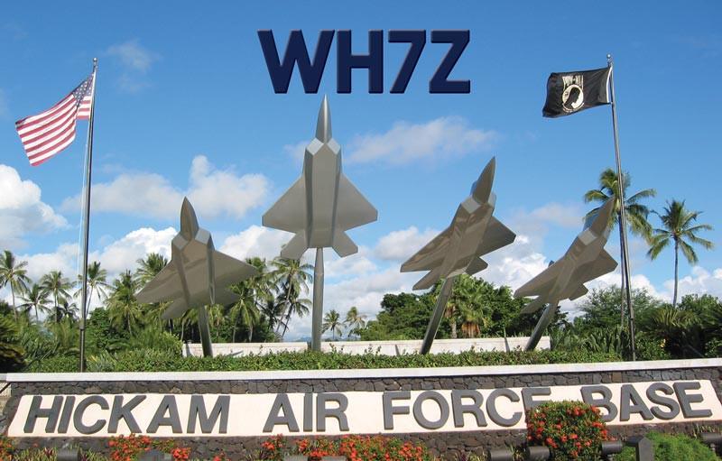 WH7Z Hickam Contest Group, Honolulu, Oahu Island, Hawaiian Islands
