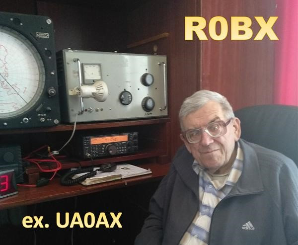 R0BX Vladimir Zuev, Artemovsk, Russia