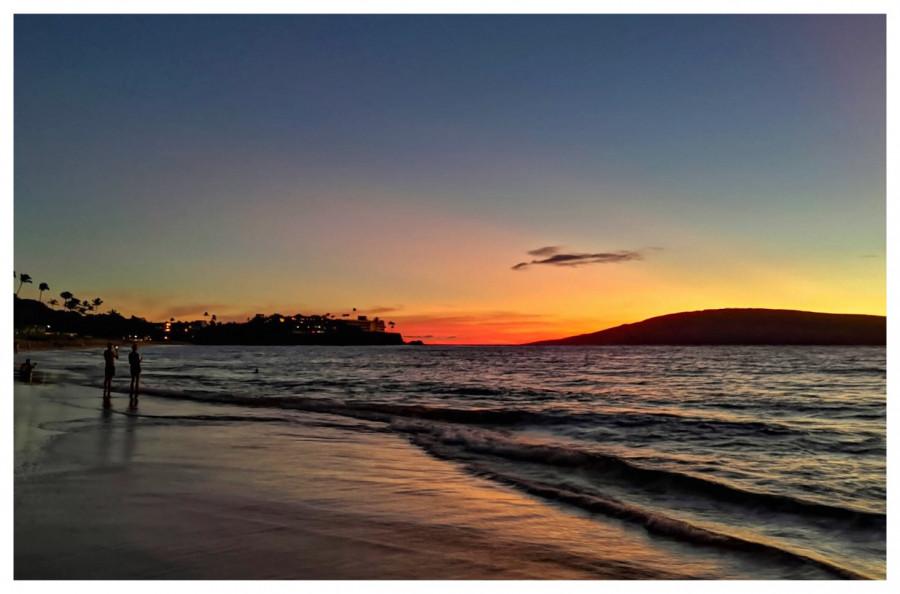 KH6/W7EE Sunset, Hawaiian Islands