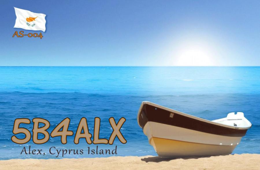 5B60ALX Alex Gromme, Larnaca, Cyprus
