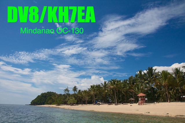 DV8/KH7EA Mindanao Island, Philippines