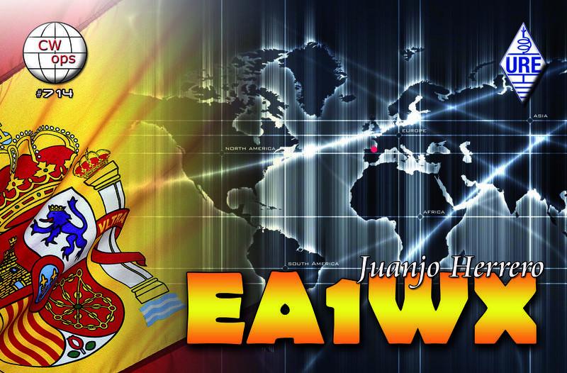 EA1WX Aviles, Spain