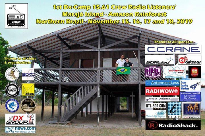 DX Camp Marajo Island Amazon Rainforest