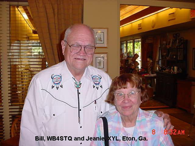 WB4STQ William Cavender, Eton, Georgia, USA