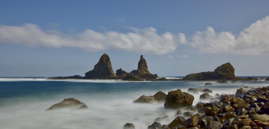 EA8/DL1DVE/P Arguamul, Gomera, Canary Islands.