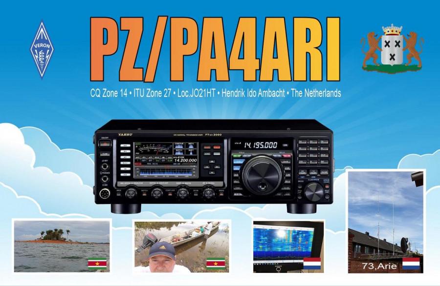 PZ/PA4ARI Paramaribo, Suriname