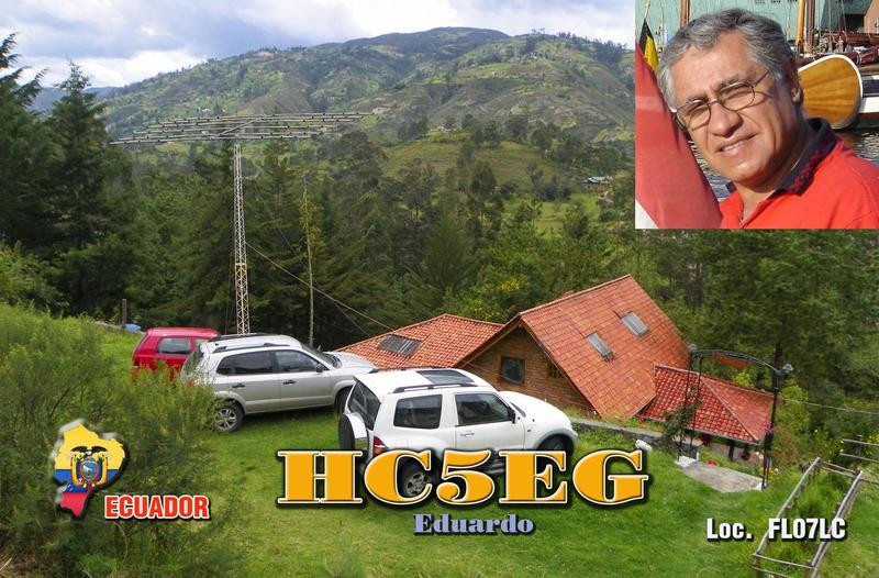 HC5EG Eduardo Cabrera Palacios, Cuenca, Ecuador