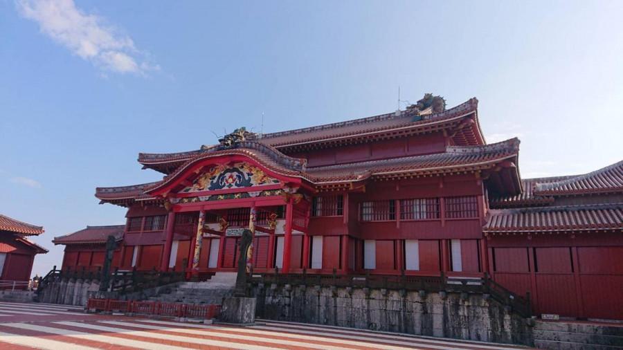 8N6SHURI Shuri Castle, Okinawa Island, Japan