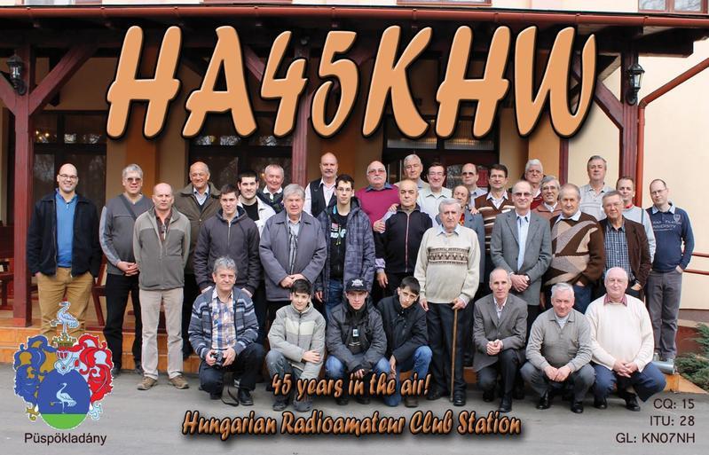 HA50KHW Puspokladany, Hungary