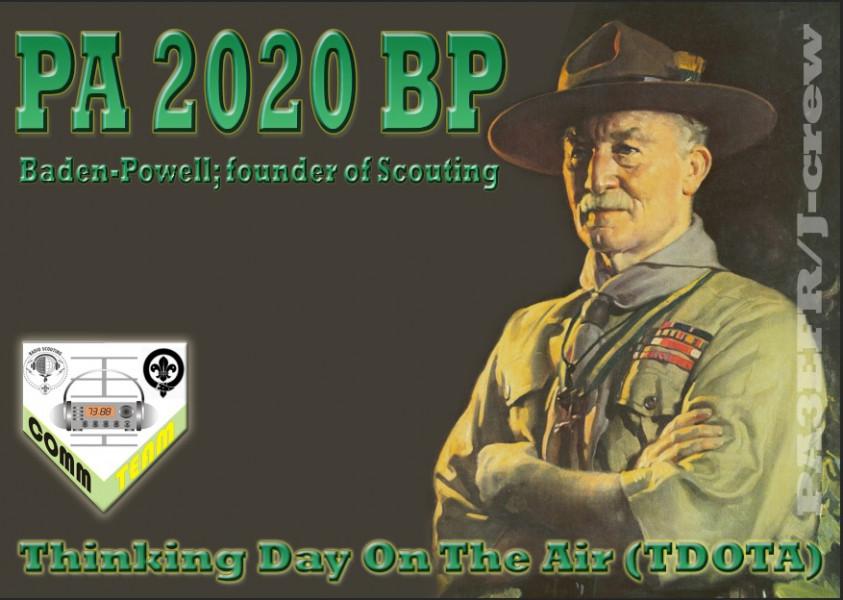 PA2020BP Baden Powell, Netherlands