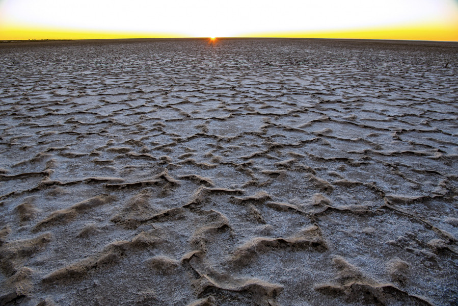 VK/AA4NC VK/AA4VK Salt Flats, Central Australia, Australia