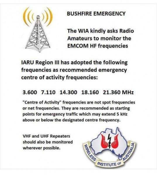 Bushfire Emergency Australia