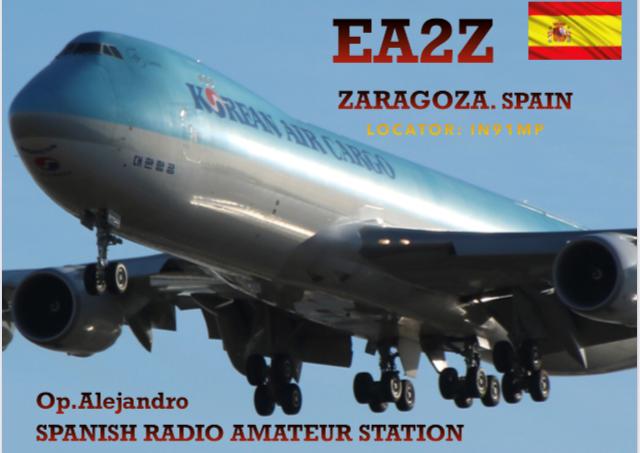 EA2Z Alejandro Labarga, Zaragoza, Spain