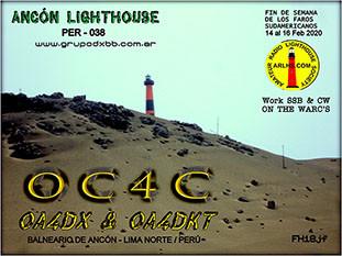 OC4C Faro de Ancon, Lima, Peru