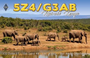 5Z4/G3AB Kenya QSL 1