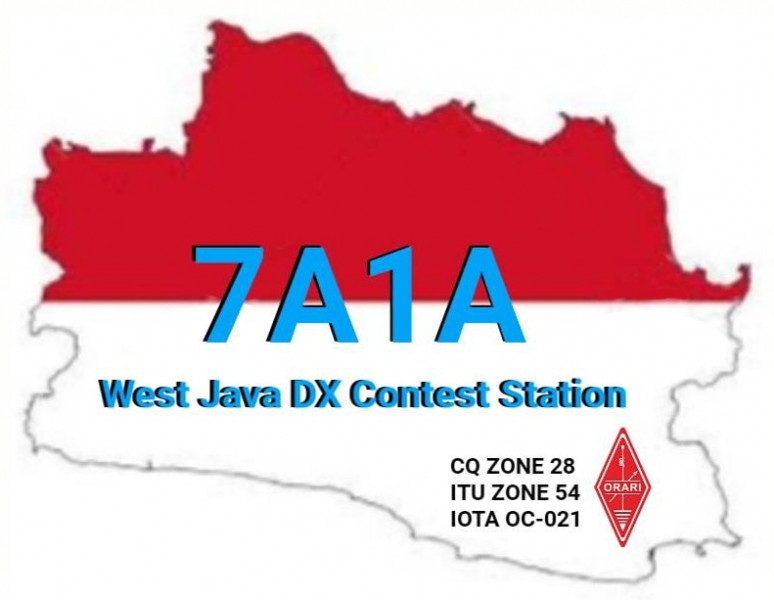 7A1A West Java DX Contest Station, Indonesia