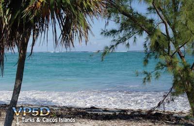 VP5D Grace Bay, Providenciales Island, Turks and Caicos Islands
