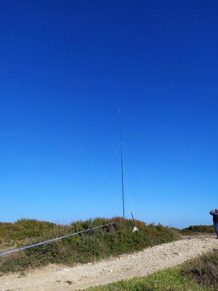 TC0X Bozcaada Island 22 January 2020 Antenna Image 1