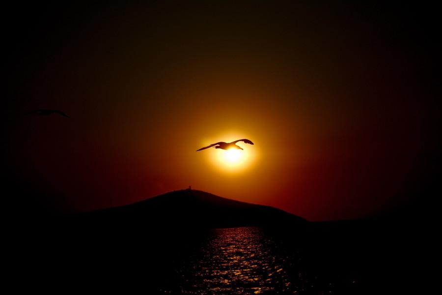TA0/UW8SM Sunset, Bozcaada Island, Turkey