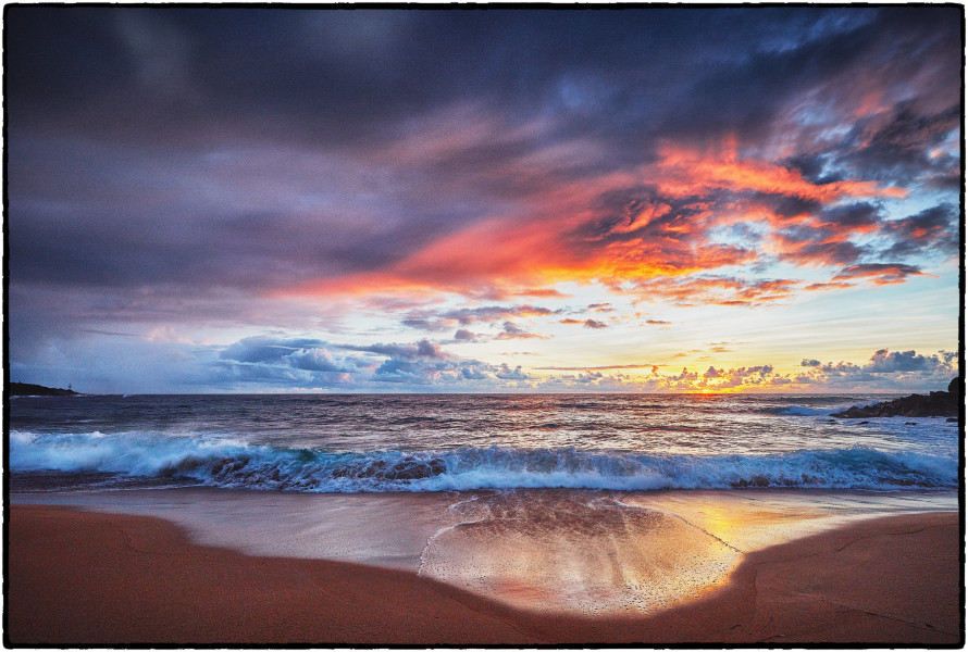 NH6JC Sunrise, Kapaa, Kauai Island, Hawaiian Islands
