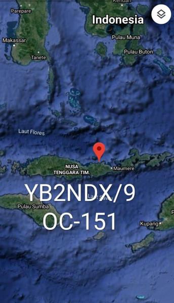 YB2NDX/9 Tenggara Timur Island