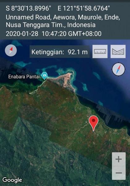YB2NDX/9 Tenggara Timur 28 January 2020 Image 1