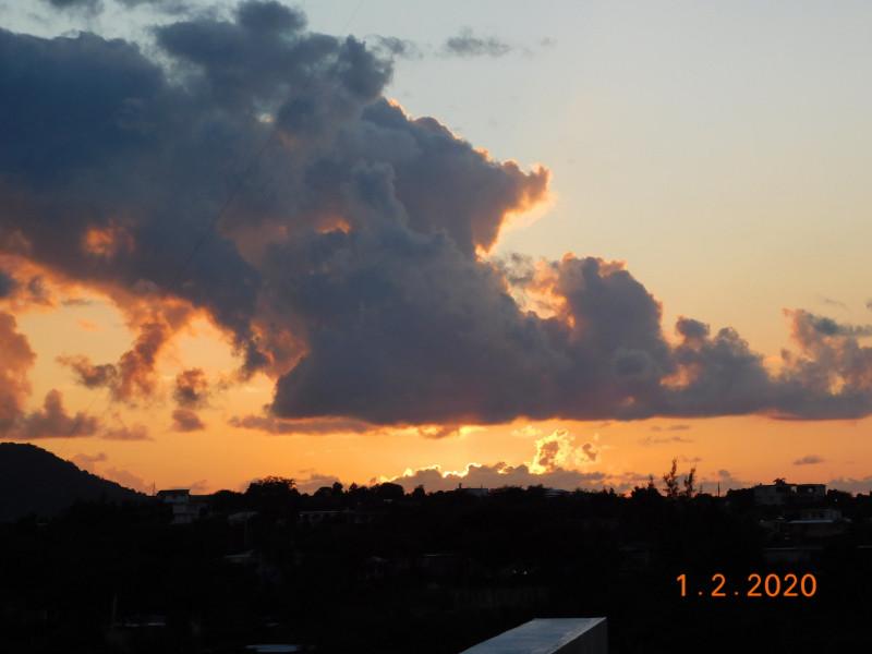 KP4/AA7CH Sunset, Vieques Island 30 Janaury 2020
