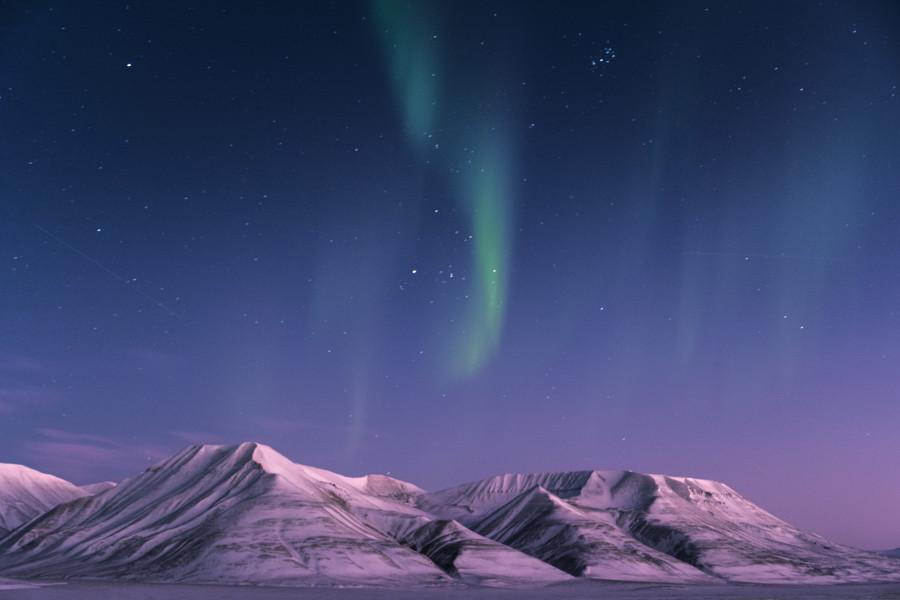 JW/DC8TM Operafjellet, Svalbard