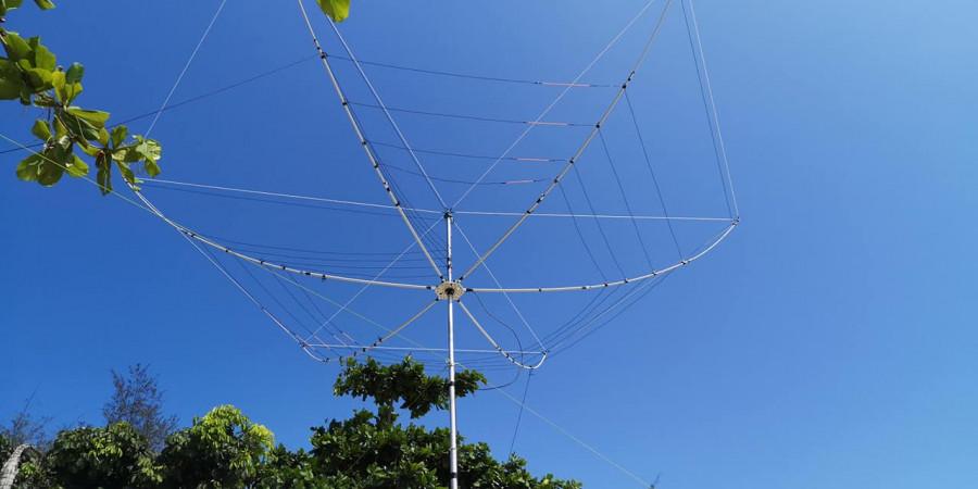 5H4WZ Pemba Island 7 February 2020 Image 2