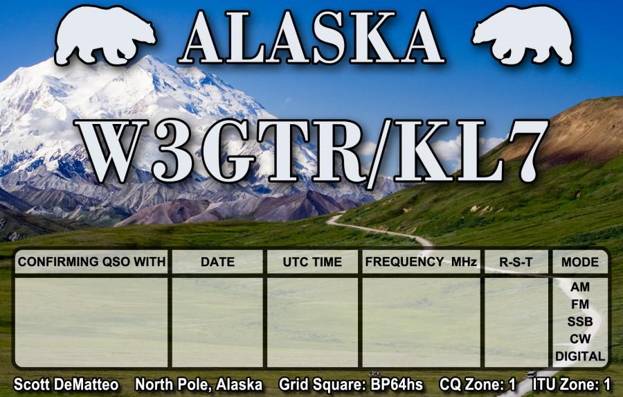 W3GTR/KL7 North Pole, Alaska