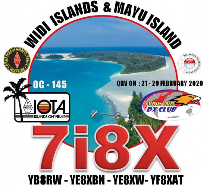 7I8X Mayu Island, Widi Islands, Indonesia