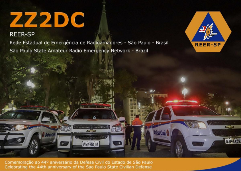 ZZ2DC Civilian Defence, Sao Paulo, Brazil